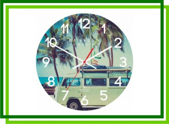 Часы Оргстекло 400 мм