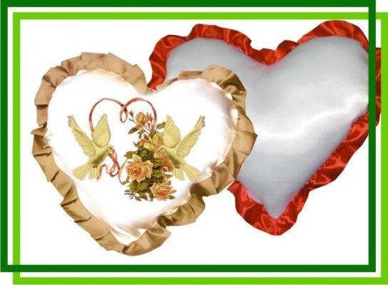 Подушка Сердце